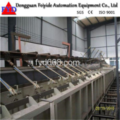Feiyide Automatic Climbing Galvanizing Rack Plating Production Line for Hinges