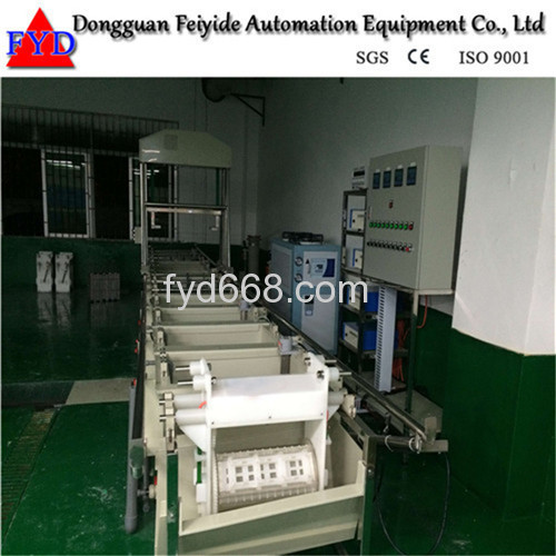 Feiyide Semi-automatic Galvanizing Barrel Plating Production Line for Fastener / Button