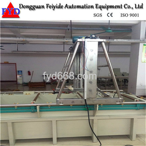 Feiyide Semi-automatic Copper Barrel Electroplating / Plating Production Line for Hinges