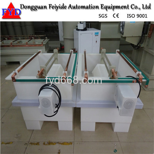 Feiyide Manual Zinc Barrel Plating Production Line for Fastener / Button