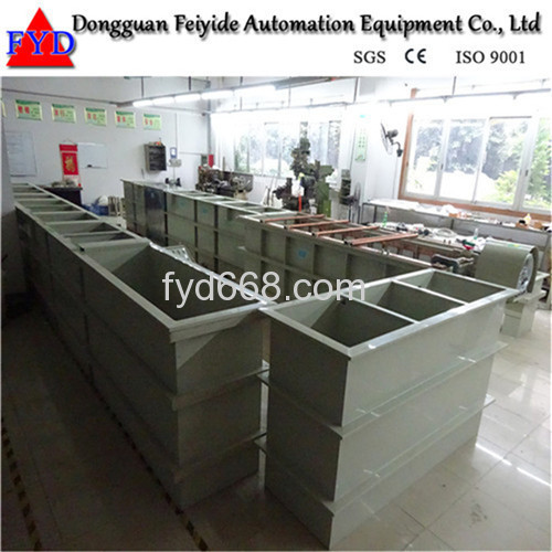 Feiyide Electroplating Machine Manual Barrel Plating Plant for Gold Plating