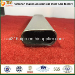 Alibaba Supplier High Quality Mild Steel Oval Tube Stainless Steel Irregular Pipe