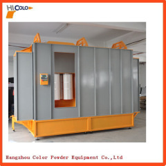 Drive-thru Powder Spray Booth