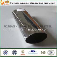 Import Stainless Steel Elliptical Steel Tubing Special Section Tube/Pipe