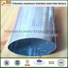 Able To Customized 316 Stainless Steel Oval Steel Pipe Special Shaped Tubing