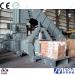 Waste Paper Hydraulic Baling Machine feeding by conveyor