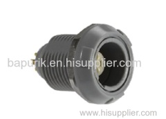 Redel plastic circular push pull medial connector male female pin PAG PKG PLG series PRG.M0.8GL.
