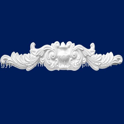 Popular ceiling material plain plaster cornice for home