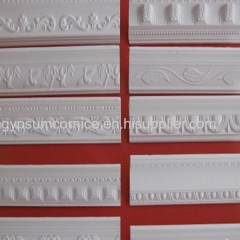 Decorative Architectural Mouldings of Gypsum Ceiling Cornice