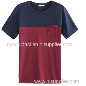 Plain High Quality T Shirt With Pocket