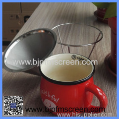 stianless steel coffee filter strainer