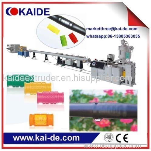 PE drip irrigation pipe extrusion machine China supplier KAIDE