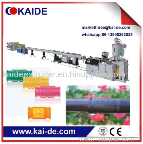 drip irrigation pipe extrusion machine China supplier KAIDE