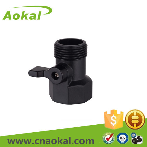 1 way connector with valve