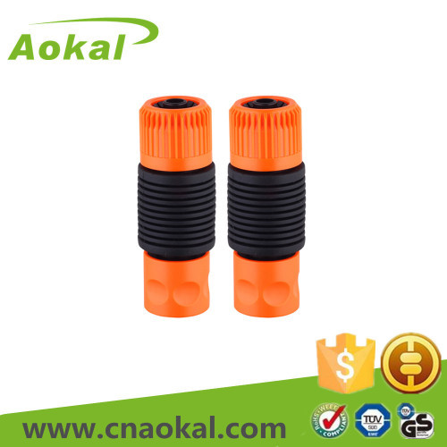 Plastic hose connector set