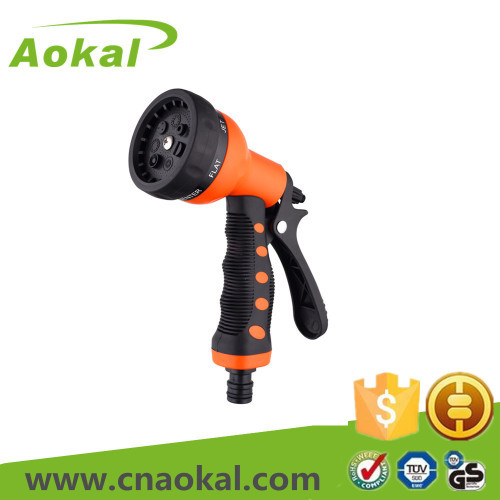 7-Pattern plastic water spray gun