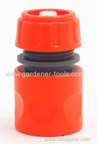 Plastic 2-way garden hose nozzle set