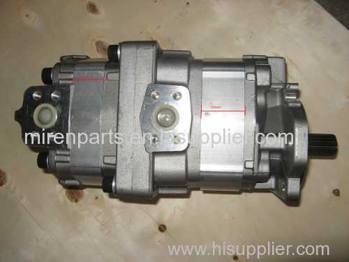 D275A-2 bulldozer Parts Hydraulic Pump 705-52-30250 komatsu gear