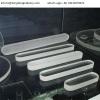Oblong Borosilicate 3.3 Ttransparent level gauge glass for steam boiler