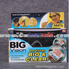 Big Vision Glasses-Magnifying Eyewear That Makes Everything Bigger and Clearer/Big Vision