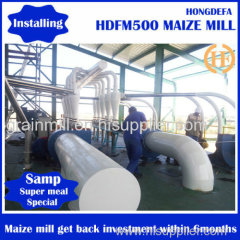 Maize grinding mill machine for Africa standard