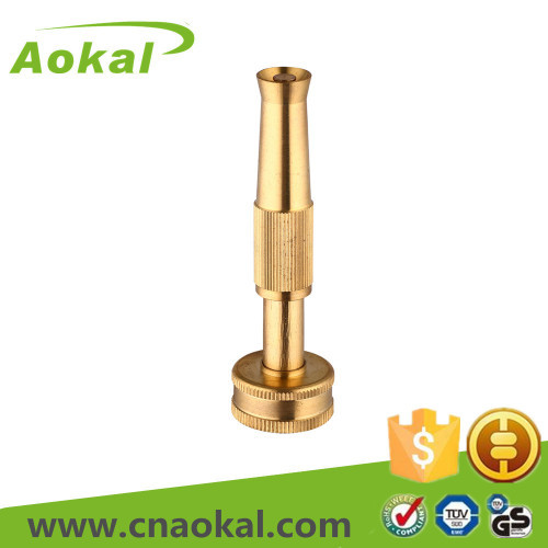 "4"" Brass adjustable nozzle"