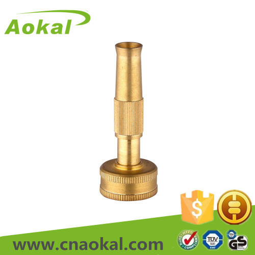 "3"" Brass adjustable nozzle"