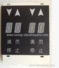 OTIS elevator parts indicator PCB DAA25140NNP6