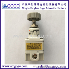 SMC type precision pressure regulator with pressure gauge and bracket munal control