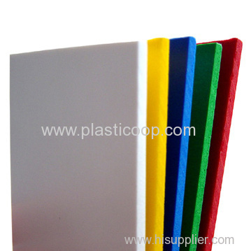colored pvc foam sheet oem for you plastic board plate