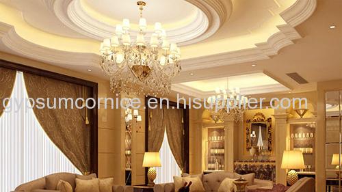 2016 Factory price polyurethane plaster cornices for home decor