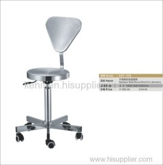 high end laboratory stool stainless steel
