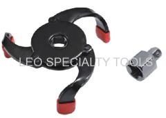 Spider Type 3 Jaw Adjustable Oil Filter Wrench Range 2-1/2