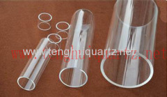 Large diameter quartz tube B
