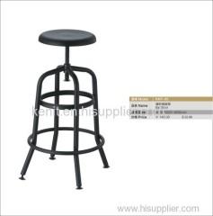 revolving stainless steel bar stool