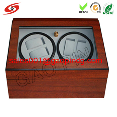 Customized Rotating Display Watch Winder 4+6