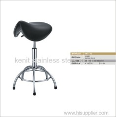 stainless steel saddle stool height adjustable