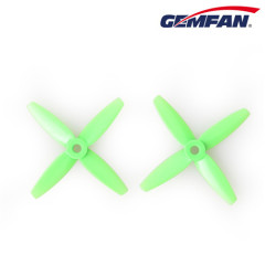 4-Blade 3035 Bullnose PC Orange/ green/ black Propellers