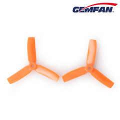 4 inch CW 4x4 3 bullnose blade PC propeller for uav