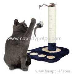 Hotsale Cat Scratcher Tree with Cat Print Model