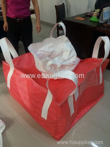 PP used big bag for packing industrial waste