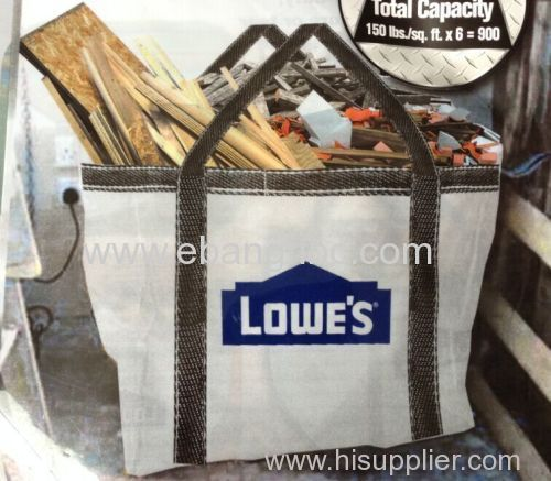pp bag for packing construction waste