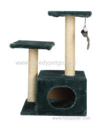 SpeedyPet Brand Natural Sisal Cat Scratcher Tree