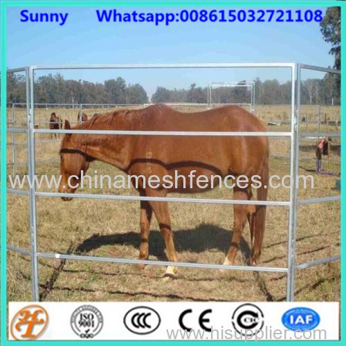с покрытием из ПВХ 1.8x3m 6 рельсы используются сельскохозяйственные панели ограждения для скота лошади