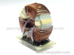 UU16 choke coil in ferrite core 2+2 pin