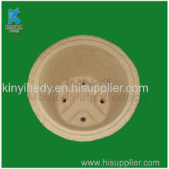 Recyclable Biodegradable Paper Pulp Small Plant Flower Pots