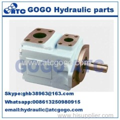 Parker Denison powerful hydraulic piston pump Pressure vane axial piston motor double vane pump