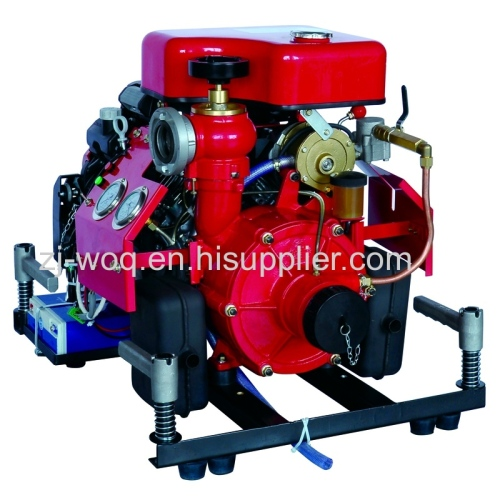 High Pressure Fire Fighting Pump with Honda Engine