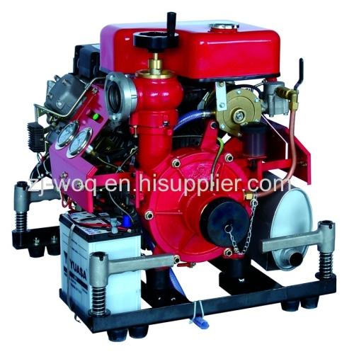 fire fighting diesel water pump