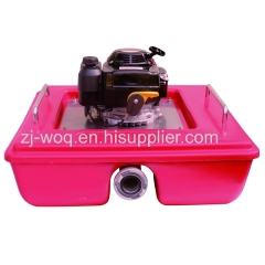 Floating Fire Pump with Honda Engine